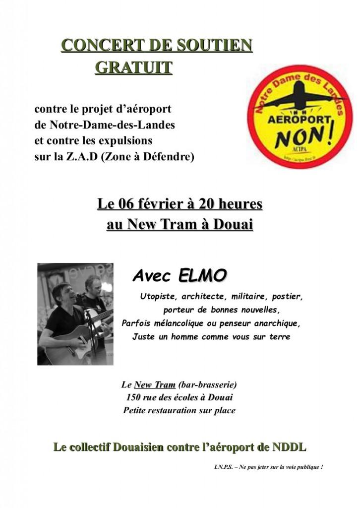 Affiche concert 6 févvrier NDDL